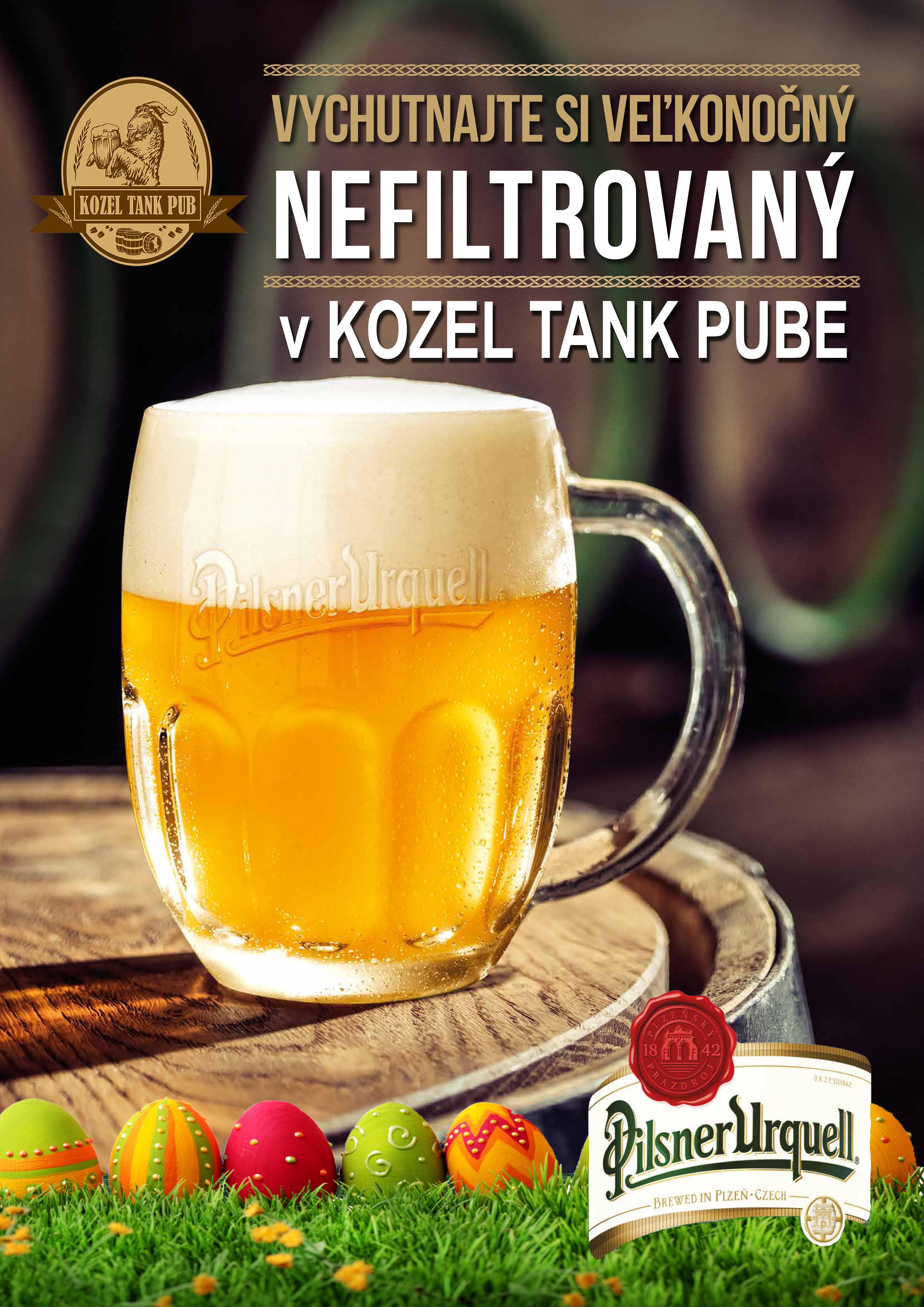 Veľkonočný Nefiltrovaný Plzeň!!