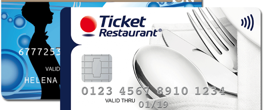 Akceptujeme platbu kartou Ticket Restaurant®